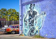 Clarksdale, MS_Robert Johnson Mural