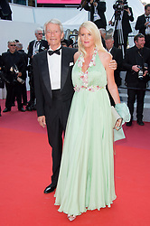 Jean-Claude Narcy and Alice Bertheaume arriving on the red carpet of 'The Traitor (Il Traditore)' screening held at the Palais Des Festivals in Cannes, France on May 23, 2019 as part of the 72th Cannes Film Festival. Photo by Nicolas Genin/ABACAPRESS.COM