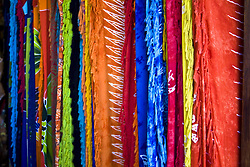 July 21, 2019 - Multi-Coloured Fabric Hanging (Credit Image: © Caley Tse/Design Pics via ZUMA Wire)