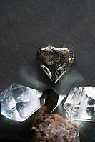 Crystal Filled PYRITE Cluster