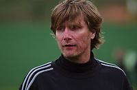 Trener Rune Nielsen, Sandviken. Treningskamp: Team Strømmen - Sandviken 4-2. La Manga, Spania. La Manga 2004. 8. april 2004. (Foto: Peter Tubaas/Digitalsport).