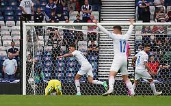 Czech Republic's Patrik Schick celebrates scoring the opening goal during the UEFA Euro 2020 Group D match at Hampden Park, Glasgow. Picture date: Monday June 14, 2021.