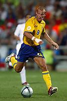 Faro 27/6/2004 Euro2004 <br />Svezia - Olanda 4-5 after penalties (0-0) <br />Fredrik Ljungberg of Sweden<br />Photo Andrea Staccioli Graffiti