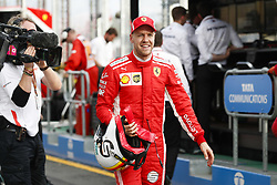 March 24, 2018 - Melbourne, Victoria, Australia - VETTEL Sebastian (ger), Scuderia Ferrari SF71H, portrait during 2018 Formula 1 championship at Melbourne, Australian Grand Prix, from March 22 To 25 - s: FIA Formula One World Championship 2018, Melbourne, Victoria : Motorsports: Formula 1 2018 Rolex  Australian Grand Prix, (Credit Image: © Hoch Zwei via ZUMA Wire)