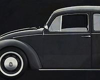 With this black and white version painting of the Volkswagen Beetle you get pure nostalgia. Who doesn't know him? Our good old Volkswagen Beetle.  The Volkswagen Beetle is the most sold car worldwide. -<br /> <br /> BUY THIS PRINT AT<br /> <br /> FINE ART AMERICA<br /> ENGLISH<br /> https://janke.pixels.com/featured/painting-volkswagen-beetle-in-black-and-white-jan-keteleer.html<br /> <br /> WADM / OH MY PRINTS<br /> DUTCH / FRENCH / GERMAN<br /> https://www.werkaandemuur.nl/nl/shopwerk/Volkswagen-Kever-Sedan-1972-zijde-B-amp-W/572002/132