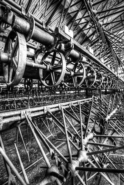 Lonaconing Silk Mill machinery in Maryland