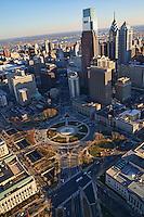 Aerial View, Logan Square, Philadelphia