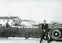 1931 Robert Florey at Mack Sennett Studio in Studio City, CA
