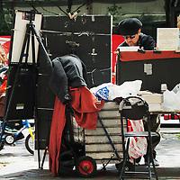 Photography vendor in front of the Metropolitan Museum of Art