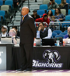 November 19, 2017 - Reno, Nevada, U.S - Reno Bighorns Coach DARRICK MARTIN during the NBA G-League Basketball game between the Reno Bighorns and the Long Island Nets at the Reno Events Center in Reno, Nevada. (Credit Image: © Jeff Mulvihill via ZUMA Wire)