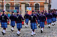 République d'Irlande, Dublin, défilé en costume traditionnel // Republic of Ireland; Dublin, parade in traditional costume