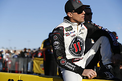 March 2, 2018 - Las Vegas, Nevada, United States of America - March 02, 2018 - Las Vegas, Nevada, USA: Kevin Harvick (4) hangs out on pit road during qualifying for the Pennzoil 400 at Las Vegas Motor Speedway in Las Vegas, Nevada. (Credit Image: © Justin R. Noe Asp Inc/ASP via ZUMA Wire)