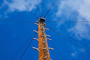 Telegraph pole, Worcestershire, United Kingdom