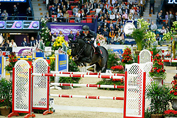 Delestre Simon, (FRA), Qlassic Bois Margot<br /> Longines FEI World Cup Jumping Final II<br /> © Dirk Caremans