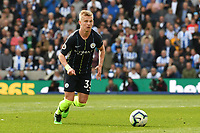 BRIGHTON, ENGLAND - MAY 12:  Oleksandr Zinchenko (35) of Manchester City  during the Premier League match between Brighton & Hove Albion and Manchester City at American Express Community Stadium on May 12, 2019 in Brighton, United Kingdom. (MB Media)