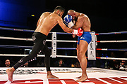 "K1: Enfusion, Weltmeisterschaft, 72.5 KG, Hamburg, 29.09.2018<br /> Ardalan Sheikholeslami - Tayfun ""Turbine"" Ozcan (TUR)<br /> © Torsten Helmke"