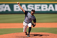 02 June 2016: Nova Southeastern's Julian Loret de Mola. The Nova Southeastern University Sharks played the Cal Poly Pomona Broncos in Game 11 of the 2016 NCAA Division II College World Series  at Coleman Field at the USA Baseball National Training Complex in Cary, North Carolina. Nova Southeastern won the semifinal game 4-1 and advanced to the championship series.