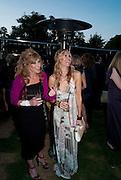 Kelly Hoppen; Melissa Odabash, 2009 Serpentine Gallery Summer party. Sponsored by Canvas TV. Serpentine Gallery Pavilion designed by Kazuyo Sejima and Ryue Nishizawa of SANAA. Kensington Gdns. London. 9 July 2009.