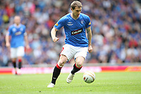Football - Scottish Premier League -  Rangers vs Motherwell<br /> <br /> Rangers draw 3 -3 with motherwell before being presented with the Clydesdale Bank Premier League Trophy .<br /> <br /> Pictured is Rangers Kevin Thomson