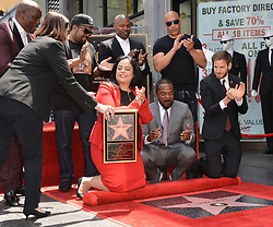 F. Gary Gray honored with Star on the Hollywood Walk of Fame. 28 May 2019 Pictured: F. Gary Gray, Vin Diesel, and Jamie Foxx. Photo credit: MEGA TheMegaAgency.com +1 888 505 6342