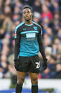 Jonathan Leko (West Brom) during the FA Cup fourth round match between Brighton and Hove Albion and West Bromwich Albion at the American Express Community Stadium, Brighton and Hove, England on 26 January 2019.