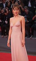 Actress Dakota Johnson at the gala screening for the film Black Mass at the 72nd Venice Film Festival, Friday September 4th 2015, Venice Lido, Italy.