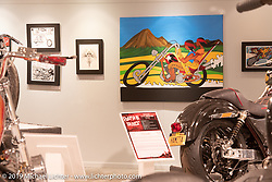 Passion Built exhibition in the Buffalo Chip's Motorcycles as Art gallery during the 78th annual Sturgis Motorcycle Rally. Sturgis, SD. USA. Thursday August 9, 2018. Photography ©2018 Michael Lichter.