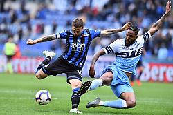 May 5, 2019 - Rome, italy - Serie A Lazio vs Atalanta. Olympic Stadium Rome 05-05-2019 In Photo Alejandro Gomez and Fortuna Wallace (Credit Image: © Fotografo01/IPA via ZUMA Press)