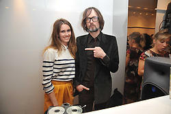 SUNDAY GIRL - JADE WILLIAMS and JARVIS COCKER at the Mother of Pearl Launch at The Other Criteria, 36 New Bond Street, London W1 on 12th April 2011.