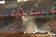Taddy Blazusiak during Men's Moto Enduro X Finals at the 2013 X Games Barcelona in Barcelona, Spain. ©Brett Wilhelm/ESPN