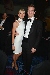 British fine jewellery brand Boodles welcomed guests for the 2013 Boodles Boxing Ball in aid of Starlight Children's Foundation held at the Grosvenor House Hotel, Park Lane, London on 21st September 2013.<br /> Picture Shows:-LADY EMILY COMPTON and her husband<br /> <br /> Press release - https://www.dropbox.com/s/a3pygc5img14bxk/BBB_2013_press_release.pdf<br /> <br /> For Quotes  on the event call James Amos on 07747 615 003 or email jamesamos@boodles.com. For all other press enquiries please contact luciaroberts@boodles.com (0788 038 3003)