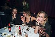 OSCAR TUTTIETT; EMMA CHITTY; ALICE DELLAL; , Proud Cabaret launch. Mark Lane. London. EC3. 3 November 2009