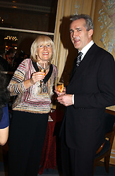 ROSIE GRAY and JEREMY KING at the Conde Nast Traveller magazine Tsunami Appeal Dinner at the Four Seasons Hotel, Hamilton Place, London W1 on 2nd March 2005.<br />