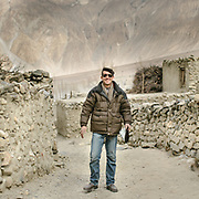 """Mr Sher Aziz, the """"mookie"""" of Hussaini village, Gojal region. Mookie means Ismaili religious leader of a community."""