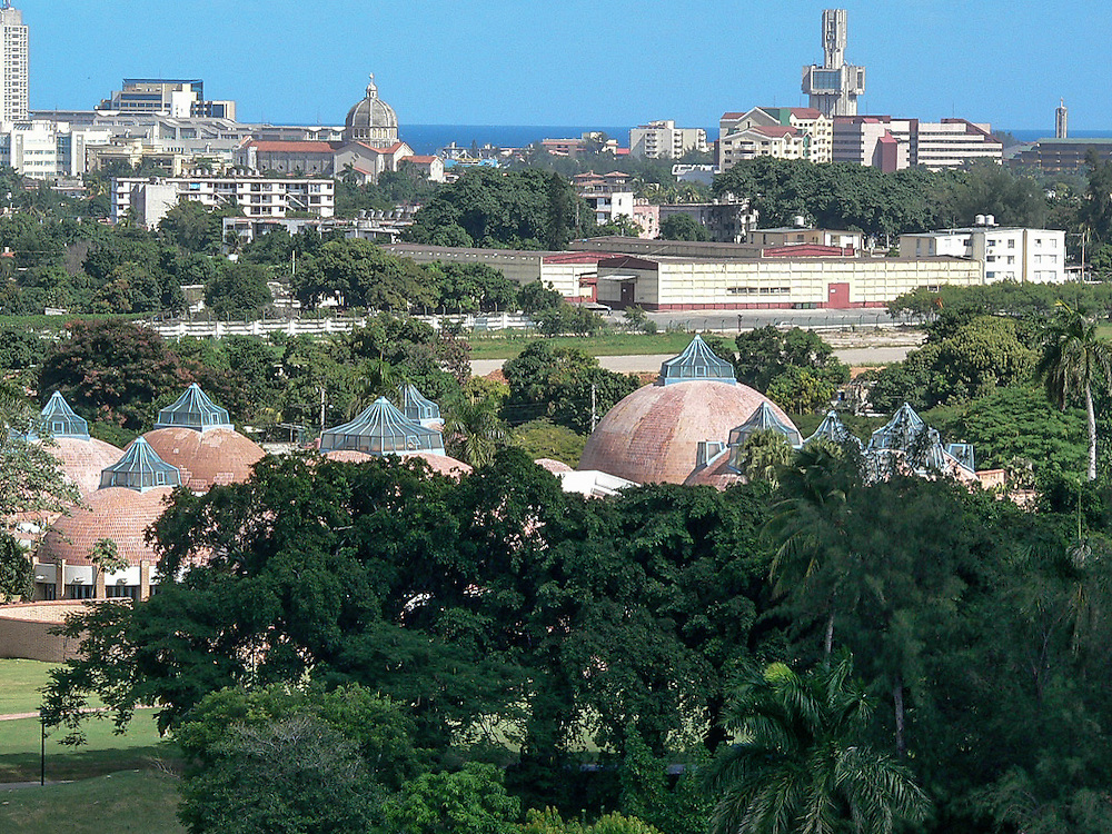 The National School of Fine Arts (1961-1965) was designed by Ricardo Porro in La Havana Cuba. Built during the early days of the Cuban Revolution and conceived as a symbol of what the new government was capable.