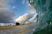 Sunset session at Sandy's Beach on Oahu.