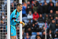 Burnley Goalkeeper Thomas Heaton looks on. Premier League match, Burnley v Tottenham Hotspur at Turf Moor in Burnley , Lancs on Saturday 1st April 2017.<br /> pic by Chris Stading, Andrew Orchard sports photography.