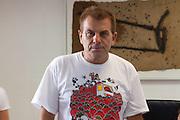La tomatina 2012: Spain's Tomato Fight Festival- Joaquin Masmano, mayor of Bu?±ol