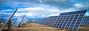 A field of solar panels in La Rioja, Northern Spain