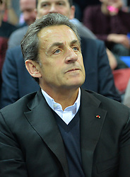 Nicolas Sarkozy, former French president and head of the French right-wing opposition UMP party,at the UCI Track Cycling World Championships in Saint-Quentin-en-Yvelines, near Paris, France on February 22, 2015. Photo by Christian Liewig/ABACAPRESS.COM