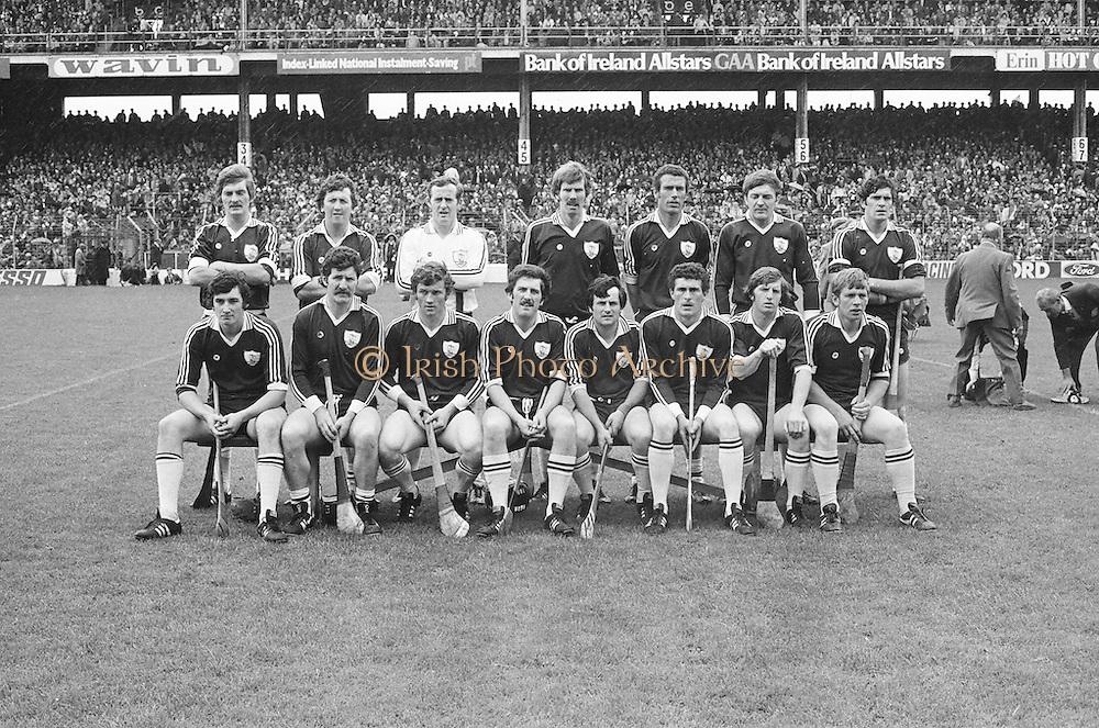 All Ireland Senior Hurling Final - Kilkenny v Galway,.Kikenny 2-12, Galway 1-8,.02.09.1979, 09.02.1979, 2nd September 1979, Galway, S Shinnors, N Mclnerney, C Hayes, A Fenton, J McDonagh (capt), S Silke, I Clarke, John Connolly, S Mahon, B Forde, F Burke, Joe Connolly, P J Molloy, N Lane, F Gantley, Subs, S Linnane for Forde, M Whelan for Burke, Referee G Ryan (Tipperary),  02091979AISHCF,