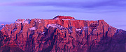 The West Temple from the West, Zion National Park, Utah