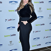 Kelly Brook attend Teens Unite - Tales Untold at Rosewood London on 29 November 2019, London, UK