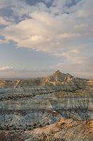 Badlands at Angel Peak Scenic Area, New Mexico