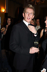 Comedian  PATRICK KIELTY at the Harpers & Queen and Moet & Chandon Restaurant Awards for 2004 held at Claridges, Brook Street, London on 1st November 2004.<br />