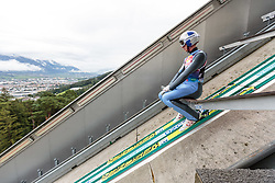 25.08.2015, Bergisel, Innsbruck, AUT, Gregor Schlierenzauer, Medientag, im Bild Gregor Schlierenzauer (AUT) // Gregor Schlierenzauer of Austria during the Mediaday of Austrian Skijumper Gregor Schlierenzauer at the Bergisel Skijumping Hill in Innsbruck Austria on 2015/08/25. EXPA Pictures © 2015, PhotoCredit: EXPA/ JFK
