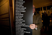 JULES BALME, William S Burroughs: Private Files Exhibition - private view<br /> Riflemaker Contemporary Art Gallery, 79 Beak Street. London. 15 December 2008 *** Local Caption *** -DO NOT ARCHIVE-© Copyright Photograph by Dafydd Jones. 248 Clapham Rd. London SW9 0PZ. Tel 0207 820 0771. www.dafjones.com.<br /> JULES BALME, William S Burroughs: Private Files Exhibition - private view<br /> Riflemaker Contemporary Art Gallery, 79 Beak Street. London. 15 December 2008