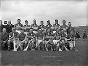 06/05/1956<br /> 05/06/1956<br /> 6 May 1956<br /> National Hurling League Final: Wexford v Tipperary. Wexford Team.