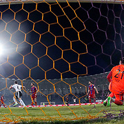 Besiktas's scores during their Turkish superleague soccer match Besiktas between Kardemir Karabukspor at Osmanli Stadium in Ankara Turkey on Monday 27 April 2015. Photo by Kurtulus YILMAZ/TURKPIX