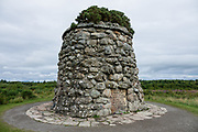 Prominent on Culloden Battlefield today is the 20-foot-tall memorial cairn, erected by Duncan Forbes in 1881 along with separate headstones to mark mass graves of the clans. The Culloden Battlefield visitor center is run by the National Trust for Scotland, near Inverness, United Kingdom, Europe. The Battle of Culloden on 16 April 1746 was part of a religious civil war in Britain and was the final confrontation of the Jacobite rising of 1745. It was the last pitched battle on British soil, and in less than an hour about 1500 men were slain – more than 1000 of them Jacobites. After an unsuccessful Highland charge against the government lines, the Jacobites were routed and driven from the field. Today, strong feelings are still aroused by the battle and the brutal aftermath of weakening Gaelic culture and undermining the Scottish clan system. Three miles south of Culloden village is Drumossie Moor, often called Culloden Moor, site of the battle. Culloden is in Scotland 5 miles east of Inverness, off the A9/B9006, directed by brown signs.